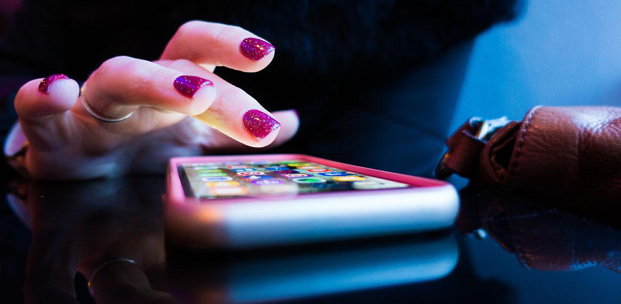 celular com aplicativos contra roubo