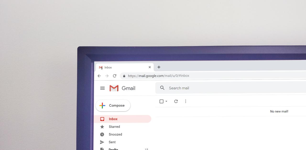 organizar o gmail