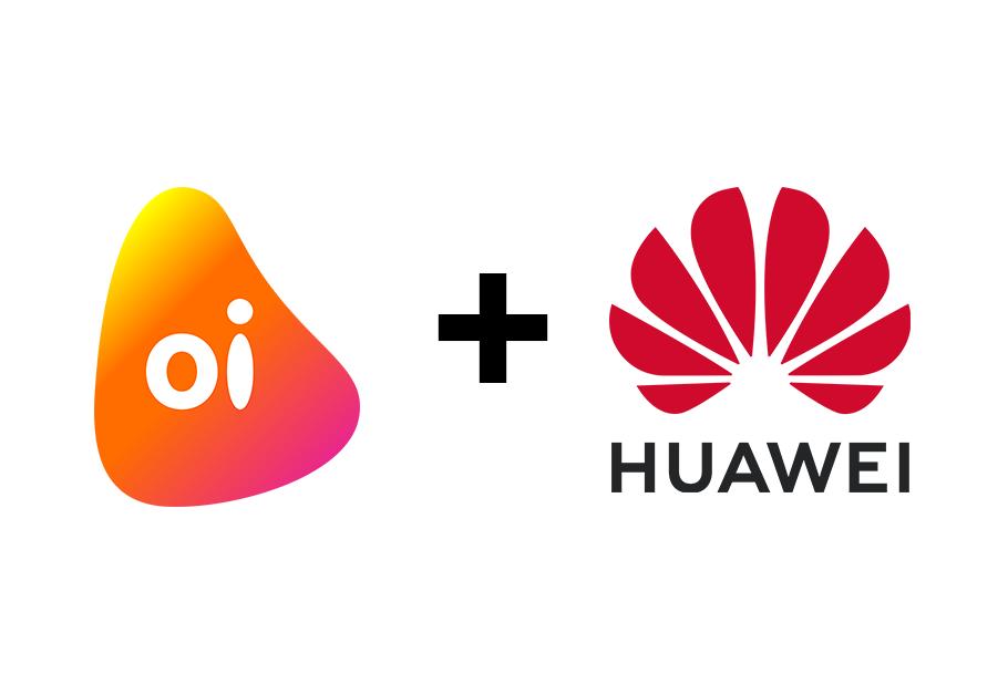 Parceria Oi e Huawei