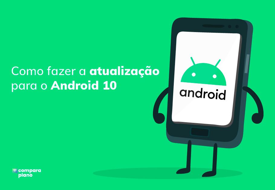 Atualização para o Android 10