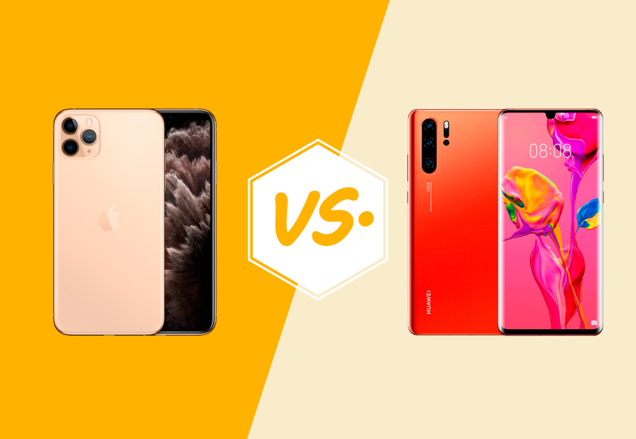 iPhone 11 Pro vs Huawei P30 Pro