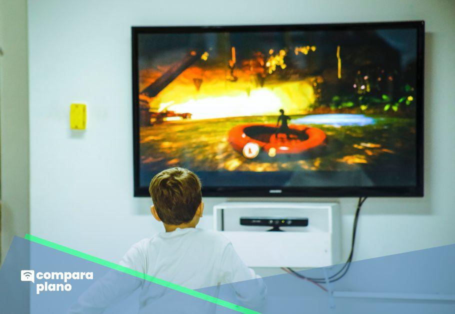 aparelho para conectar internet na tv