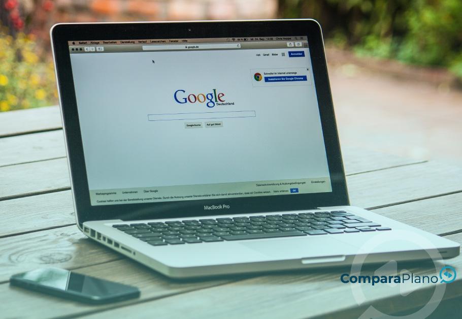 como apagar histórico do Google