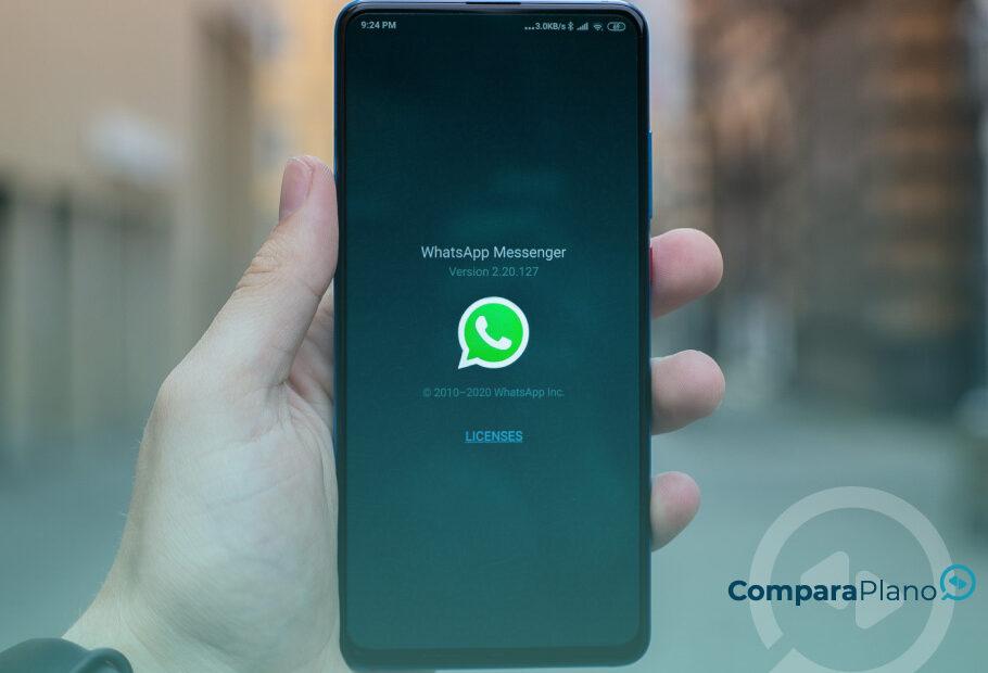 WhatsApp parou